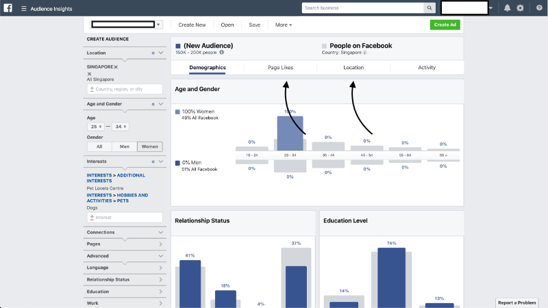 Facebook Audience Insights Interests | Evolve & Adapt