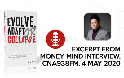 Highlights from J C Sum's Interview on Money Mind on CNA938