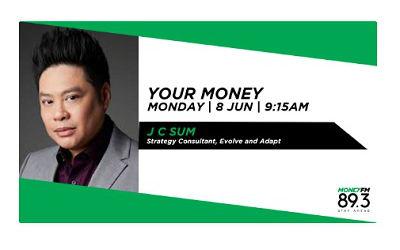 J C Sum Interview on Money FM 89.3