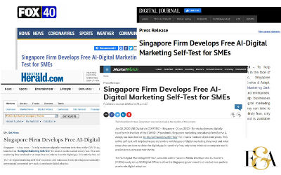 Evolve & Adapt Develops Free AI-Digital Marketing Self-Test for SMEs