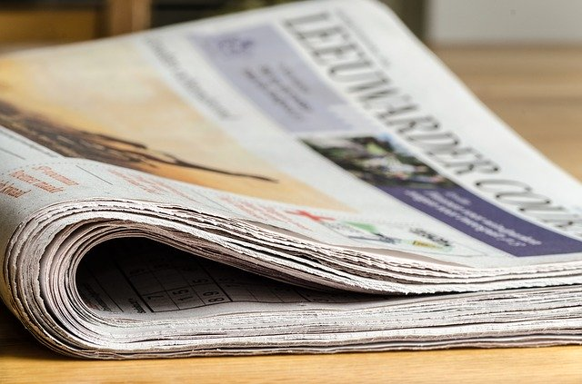 Above the Fold of Newspapers