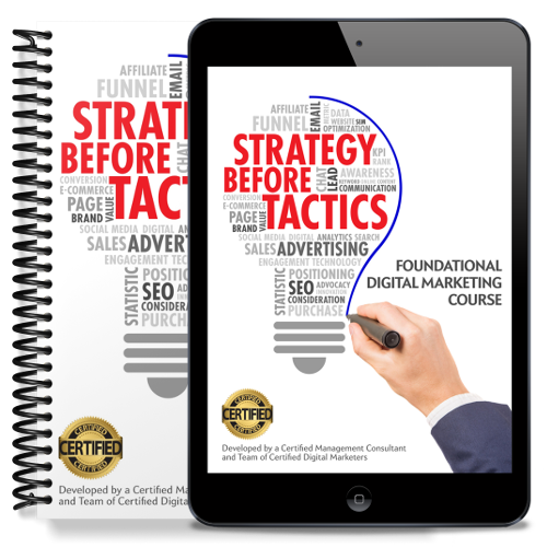 Digital Marketing Course Singapore   Strategy Before Tactics