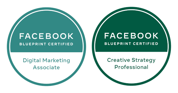 Facebook Blueprint Certification Badges