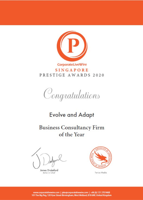 Prestige Awards Singapore 2020