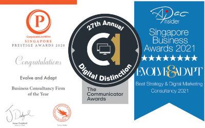 Singapore Marketing Agency Wins Another Award – Communicator Award 2021