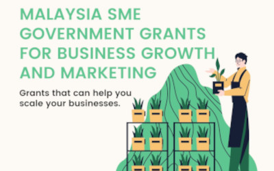 Malaysia SME Government Grants for Business Growth and Marketing.